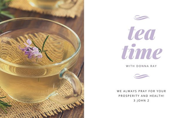 Tea Time with Donna Ray – Detoxing Episode 2